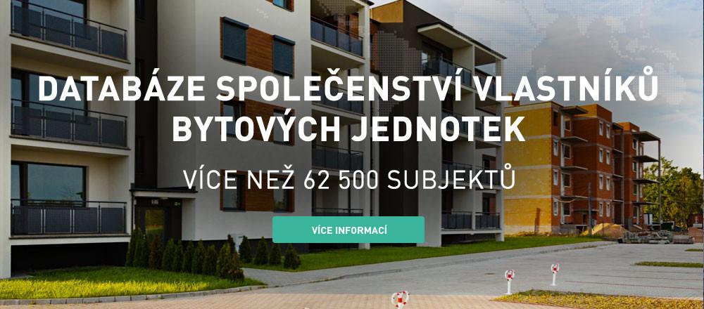 Databáze společenství vlastníků bytových jednotek