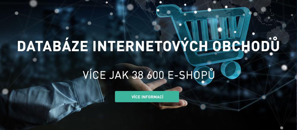 Databáze internetových obchodů
