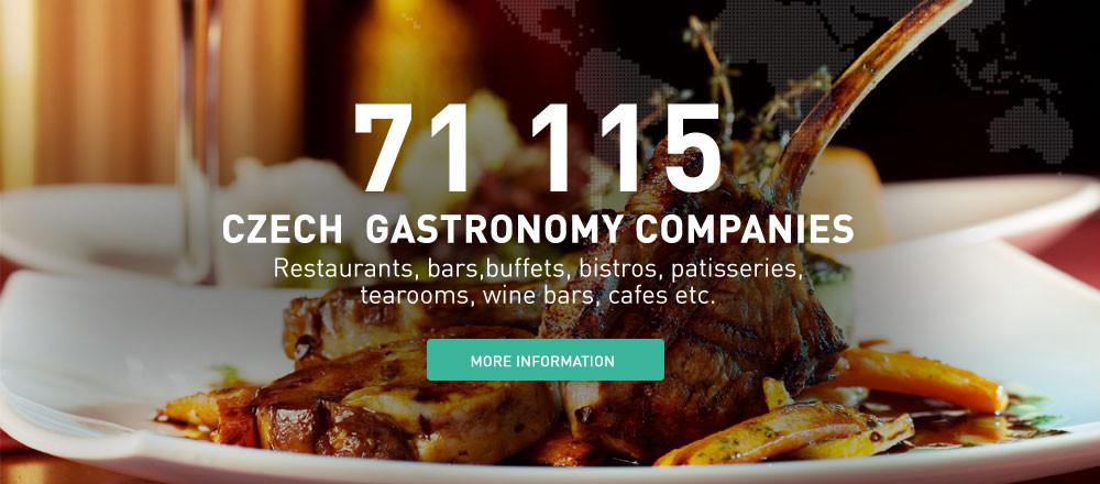 Czech gastronomy companies